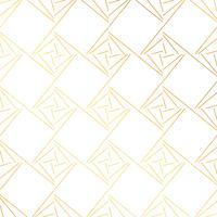 geometrisk guldmönster bakgrund vektor