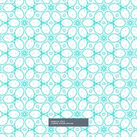 cute blue floral style pattern background