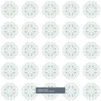 white background with abstract pattern shapes