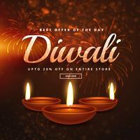 ofertas e descontos de celebração diwali