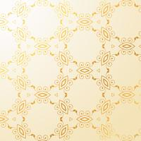 luxury golden floral decoration background