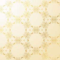 fond de décoration florale de luxe doré