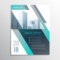 modern annual report business brochure design template cover pag