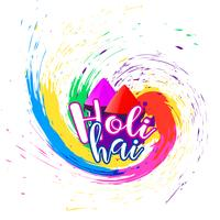 abstract happy holi festival background