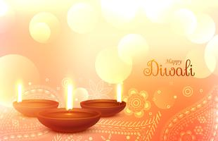 beautiful diwali wallpaper with paisley art