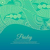 beautiful paisel design background