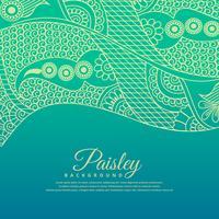 schönen Paisel Design Hintergrund