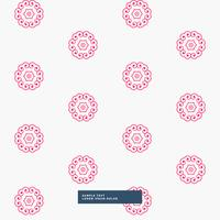 cute pink flower pattern background