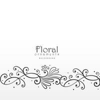 belo design floral elemant