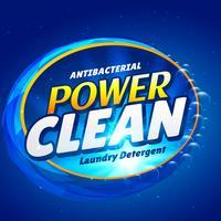 sabão e detergente de detergente de limpeza modelo de embalagem do produto des