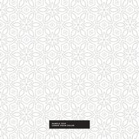 Resumen patrón de flores de fondo