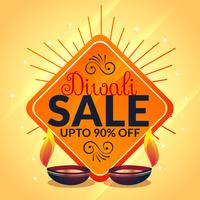 diwali sale banner celebration offer template