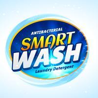 tvättmedel förpackning koncept mall