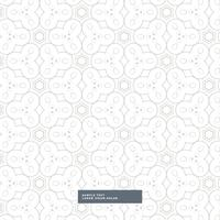 light gray abstract shapes pattern design on white background
