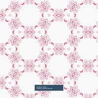 abstract red floral pattern background