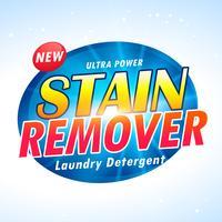 projeto de empacotamento do produto detergente de lavanderia do poder ultra