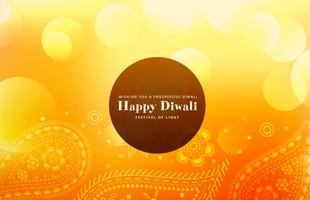 happy diwali wallpaper with paisley pattern
