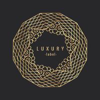 Vintage Luxury Golgen prydnad