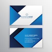 saubere minimale Visitenkartenvorlage