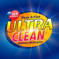 Förpackningskonceptdesign för tvättmedel