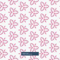 rosa Blumenmusterhintergrund