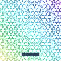 creative colorful flower style vector background