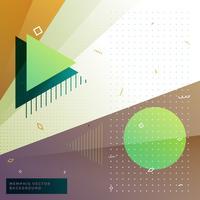 geometric memphis style background