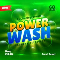 washing and cleaning laundry detergent product packaging templat