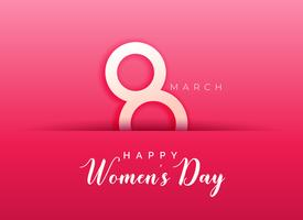 pink background for happy women's day
