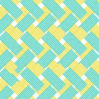 gelbe und blaue Zickzacklinien Musterhintergrund