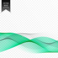 elegant clean vector wave background