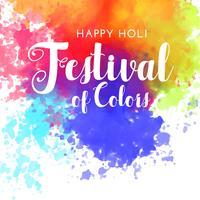 gelukkig holifestival van kleurenachtergrond