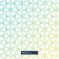 beautiful flower style pattern background