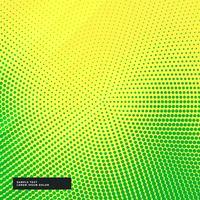 fond jaune avec effet demi-teinte vert