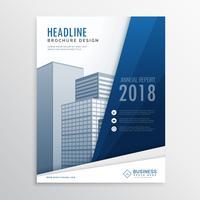 modelo de ddesign de panfleto de brochura empresarial moderno em tamanho a4