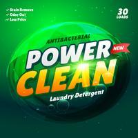 modello di imballaggio del prodotto detergente