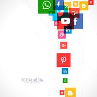social media icons backgorund