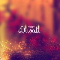beau fond de diwali avec un design paisley