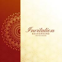 premium invitation luxury background design