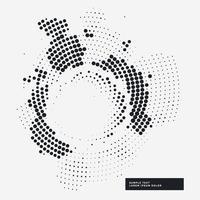 abstracte haltone grunge achtergrond in cirkel stijl