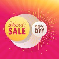 diwali stötfångare försäljning vacker bakgrund