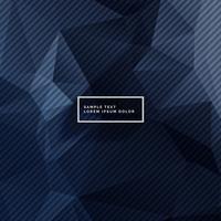 mörkblå bakgrund med abstrakta former