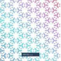 abstract colorful flower geometric pattern background