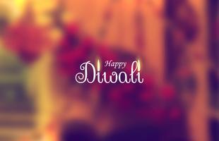 festival de diwali beau fond