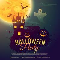 fundo de festa de comemoração de halloween