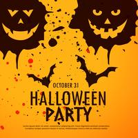 Fondo de Halloween fiesta grunge