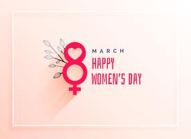 8th march, international women's day celebration background