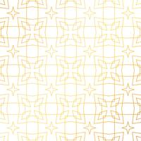 abstract geometric golden pattern background design