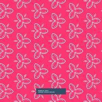 vacker rosa blommönster bakgrund
