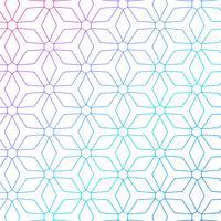 bunte geometrische Linien Muster Hintergrund
